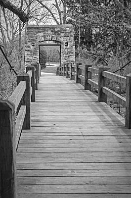 Photograph - Hoyt Bridge by Susan  McMenamin