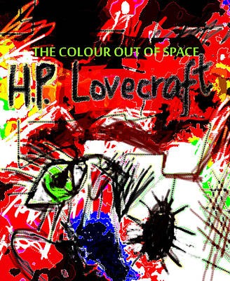 Hp Lovecraft Poster  Original by Paul Sutcliffe