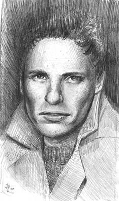 James Parker Drawing - Hp Work Doodle by James Parker