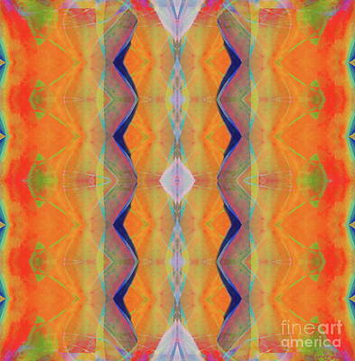 Painting - H.p.mirror Print by Expressionistart studio Priscilla Batzell