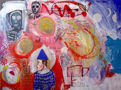 Hralequin's Dream Le Neant Art Print