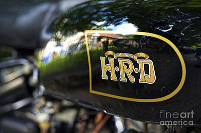 Photograph - Hrd Gas Tank by Tim Gainey