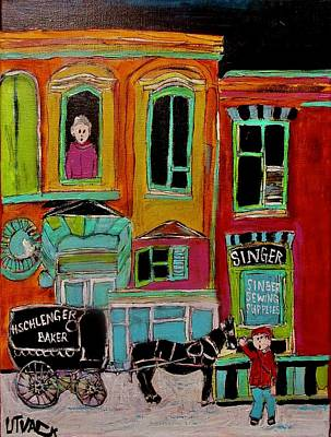H. Schlenger Bakery St. Dominique C1885 Original