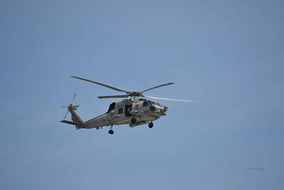 Photograph - Hsm 48 Mh-60r Helicopter by rd Erickson