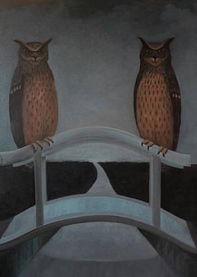 Painting - Hu-hu-bro by Tone Aanderaa