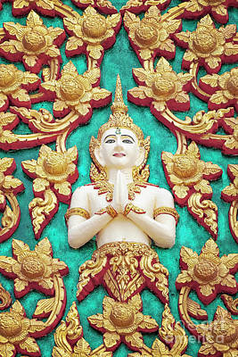 Photograph - Hua Hin Temple Detail by Antony McAulay