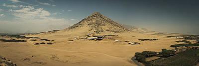 Mochica Photograph - Huaca De La Luna, Peru by Stefano Ginella