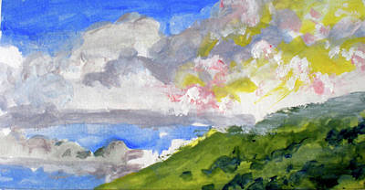 Fauvist Painting - Hualalai Clouds by Richard Rochkovsky