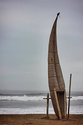 Photograph - Huanchaco by Matthew Magee