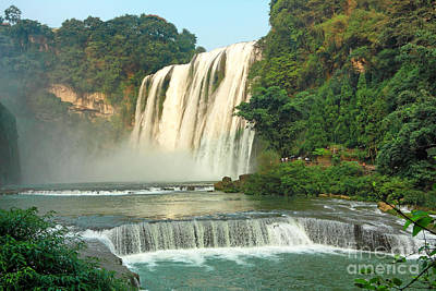 Photograph - Huangguoshu Waterfalls by Charline Xia
