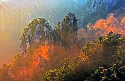 Photograph - Huangshan Morning Mist by Dennis Cox ChinaStock