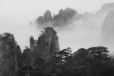 Photograph - Huangshan by Yan Zhang