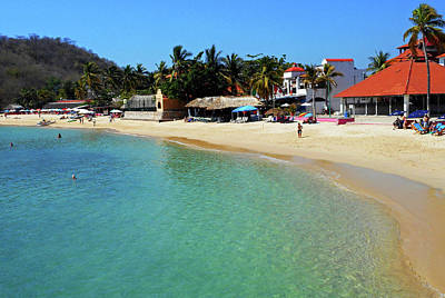 Photograph - Huatulco 6 by Ron Kandt