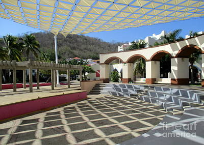 Photograph - Huatulco Amphitheater 1 by Randall Weidner