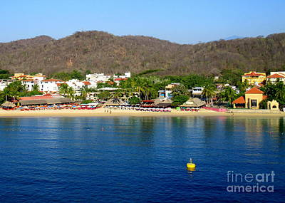 Photograph - Huatulco Beach 1 by Randall Weidner