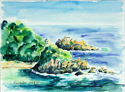 Painting - Huatulco Mexico II by Ingrid Dohm