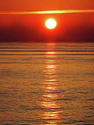 Photograph - Huatulco Sunsets 3 by Ron Kandt