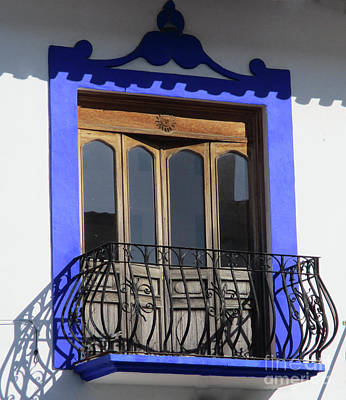 Photograph - Huatulco Window 1 by Randall Weidner