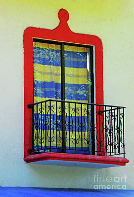 Photograph - Huatulco Window 3 by Randall Weidner