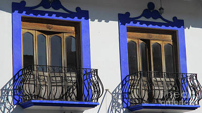 Photograph - Huatulco Windows 2 by Randall Weidner
