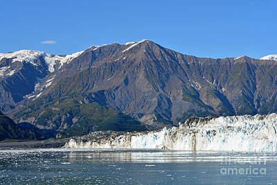 Photograph - Hubbard Glacier 2 by Connie Fox