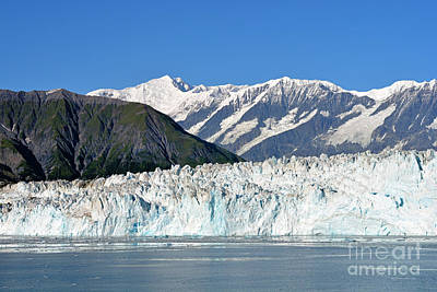 Photograph - Hubbard Glacier Closeup by Connie Fox