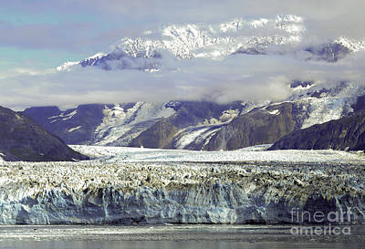 Photograph - Hubbard Glacier by Gary Beeler