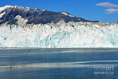 Photograph - Face Of Hubbard Glacier by Connie Fox