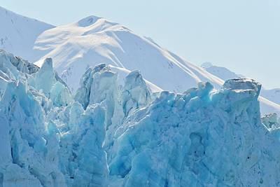 Photograph - Hubbard Glacier by KJ Swan