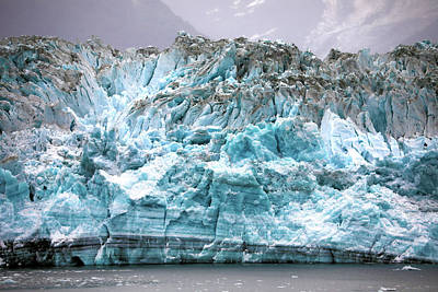 Photograph - Hubbard Glacier by Mitch Cat