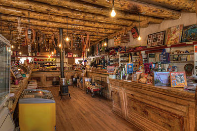 General Store Photograph - Hubbell Trading Post 1878 Az by Steve Gadomski