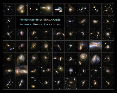 Photograph - Hubble Galaxy Poster by Paul W Faust - Impressions of Light