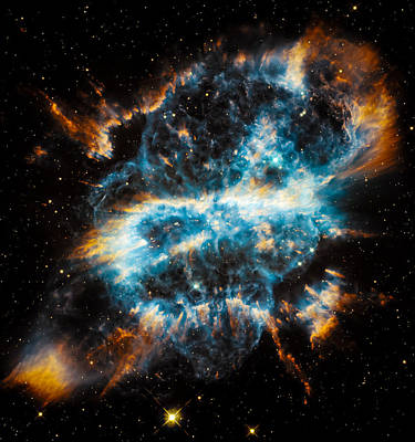 Hubble Snaps Ngc 5189 Art Print