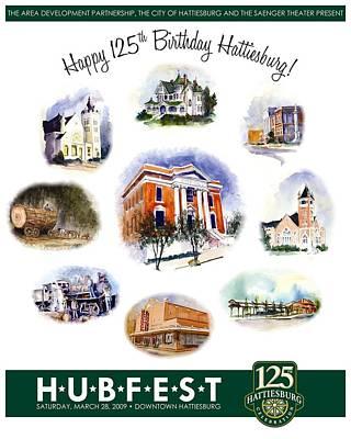 Hubfest Poster Art Print