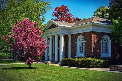 Photograph - Hudson Falls Free Library by Kendall McKernon