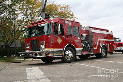 Hudson Fpd 102 Art Print by Roger Look