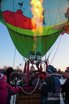Photograph - Hudson Hot Air Balloon Festival 2018 by Wayne Moran