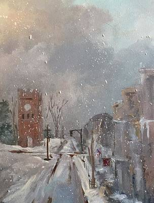 Painting - Hudson Ohio by Kathleen Harrington