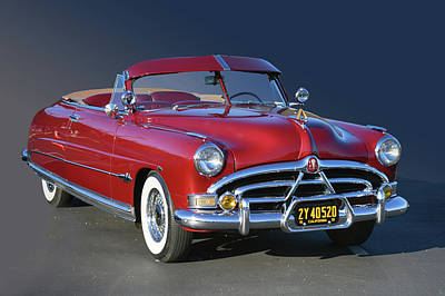 Photograph - Hudson Ragtop by Bill Dutting