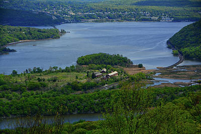 Photograph - Hudson River From Bear Mountain In The Spring by Raymond Salani III