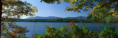 Hudson River In Autumn, Rhinebeck, New Art Print by Panoramic Images