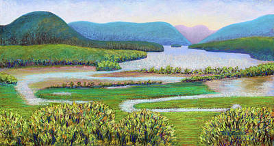 Painting - Hudson River In Summer by Polly Castor