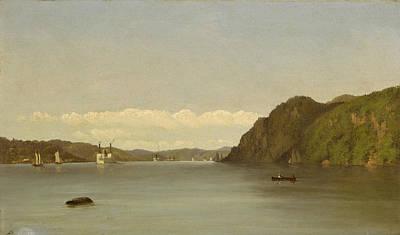 Painting - Hudson River Landscape by John Williamson
