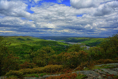 Photograph - Hudson River Looking North From Bear Mountain by Raymond Salani III