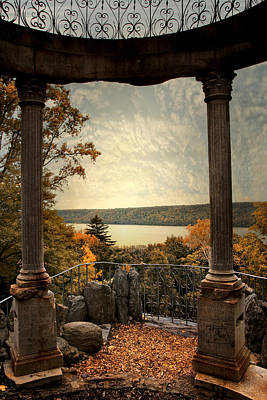 Photograph - Hudson River Overlook by Jessica Jenney