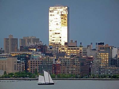 Photograph - Hudson River Sail by Steve Breslow