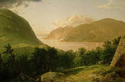 Painting - Hudson River Scene by John Kensett
