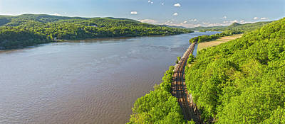 Photograph - Hudson River Valley Panorama by Angelo Marcialis