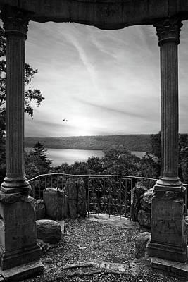 Photograph - Hudson River Views Monochrome by Jessica Jenney