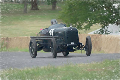 Indy Car Photograph - Hudson Super 6 Indy Replica by Adrian Beese